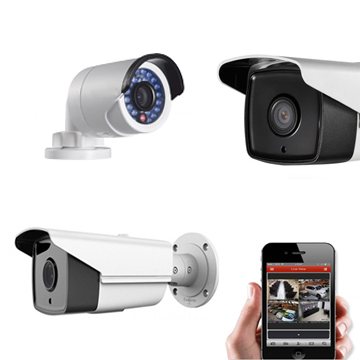 تركيب وتشغيل كاميرات مراقبة لمشاهدة الكاميرات عبر الجوال والكمبيوتر