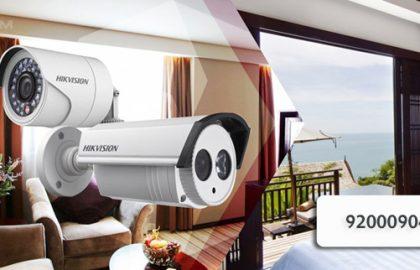 كاميرات المراقبة المنزلية