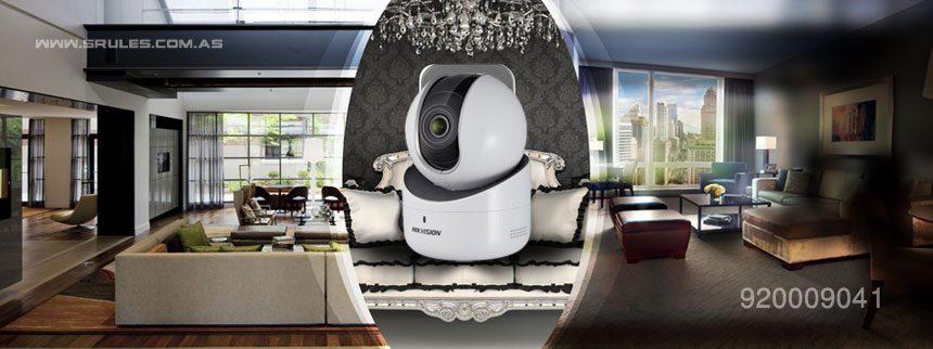 كاميرات مراقبة الأطفال