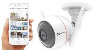 كاميرات مراقبة واي فاي C3W